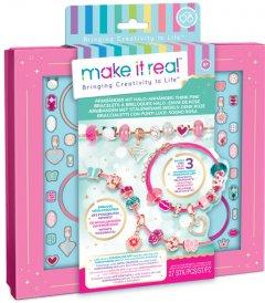 Набор для создания браслетов Make it Real Розовое сияние (MR1722)
