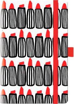Недатированный еженедельник Brunnen Смарт Графо Lipstick BBH 192 страницы (73-792 68 03)