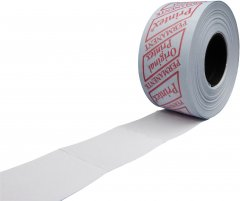 Этикет лента Printex 29 х 28 мм 600 этикеток прямоугольная 30 шт Белая (4415)