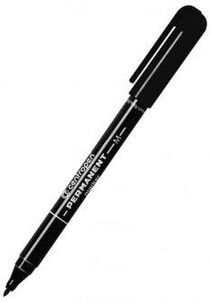 Набор перманентных маркеров Centropen 1 мм 10 шт Черный (2846/01)