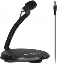 Микрофон Promate Tweeter-5 Mini-jack 3.5 мм Black (tweeter-5.black)