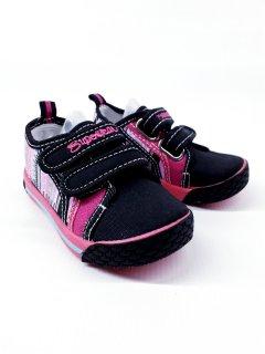 Кеди Super gear A9843 23(р) 14см чорний з рожевим