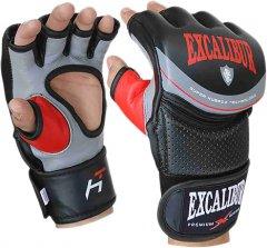 Перчатки для MMA Excalibur 687-01 Hybrid S/10 Серо-черно-красные (687-01/S/10)