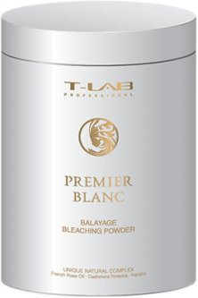Пудра T-LAB Professional Premier Blanc Balayage Bleaching Powder для осветления волос 450 мл (5060466661813)