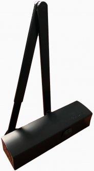Дверной доводчик GEZE TS2000 V BC с рычажной тягой Черный (119569 + 109544)