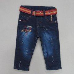 Теплі джинси Hiwro kids для хлопчика 80 см Сині 15378