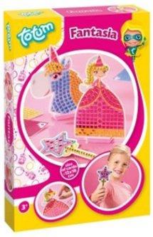 Набор для творчества Totum Стикерная мозаика - Принцесса и единорог (029736) (8714274029736)