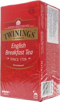 Чай черный Twinings English Breakfast 2 г х 25 шт (70177010775)