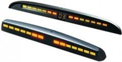 Парковочный радар для заднего и переднего бампера Steelmate PTS810MM Black