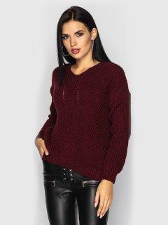 Пуловер Larionoff Paris 42-46 Бордовый (Lari2000005347214)