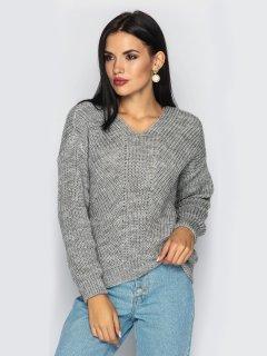Пуловер Larionoff Paris 42-46 Серый (Lari2000005347252)