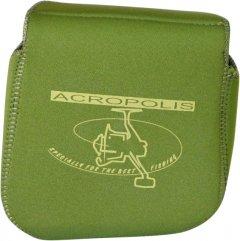 Чехол для безынерционной катушки неопреновый Acropolis ФБК-5н зеленый