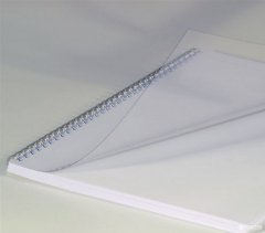 """Обложки для брошюрования пластиковые bindMARK Кристал А3 200 мкм """"прозрачные"""" Бесцветные (2000040197010)"""