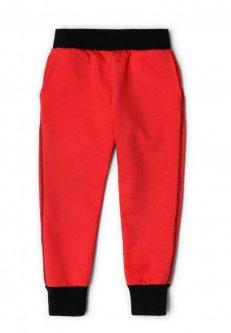 Штани червоні (футер) ArDoMi 128-134 см (11803)