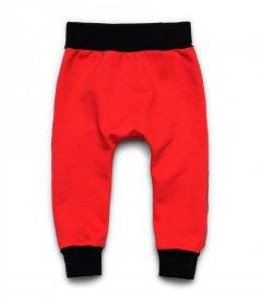 Штани червоні (футер) ArDoMi 98 см(2-3р) (11802)