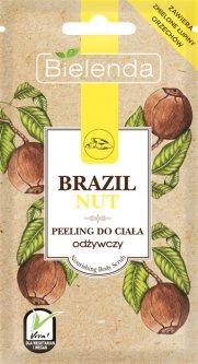 Сахарный пилинг саше для тела Bielenda Brazil Nut питательный 30 г (5902169038496)