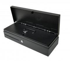 Денежный ящик ІКС с крышкой монетницы FT4617 Black 24 В