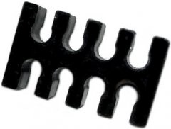 Пластиковый зажим для кабелей БП Gelid ATX Cabel Holder 8 каналов Черный (PL-ATXCM-8P-02)