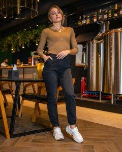 Жіночі джинси Woox 1079 28 Чорний (1079 - 14668)