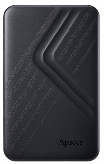 "Жесткий диск Apacer AC236 1TB 5400rpm 8MB AP1TBAC236B-1 2.5"" USB 3.1 External Black"