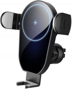 Автодержатель для телефона ColorWay AutoSense Car Wireless Charger 15W Black (CW-CHAW025Q-BK)