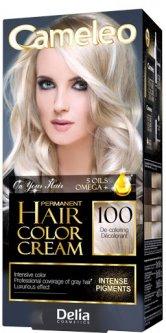 Краска для волос Delia cosmetics Cameleo OMEGA plus and 5 oils 100 Осветлитель 50 мл (5060061200561)