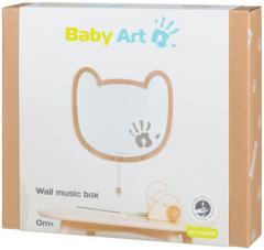 Музыкальная настенная рамочка Baby Art с отпечатком ладони малыша (3601099900)