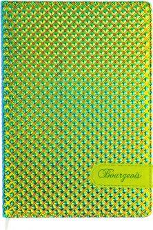 Ежедневник недатированный Bourgeois А5 160 листов Зеленый (6923749726212)