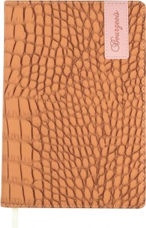 Ежедневник недатированный Bourgeois А5 160 листов Бежевый (6923749726410)