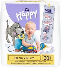Одноразовые пеленки Bella Baby Happy 60x60 см 30 шт (5900516601676)