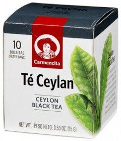 Чай черный цейлонский Carmencita 60 г (8413700056147)