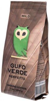 Кофе молотый свежеобжаренный Gufo Verde Perfetto 200 г (4820204151195)
