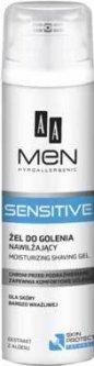 Гель для бритья для мужчин AA Cosmetics Men Sensitive Увлажняющий 200 мл (5900116020150)