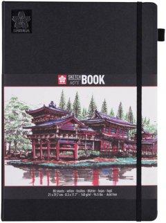 Блокнот Sakura Sketch 21х29.7 см 80 листов Кремово-белый (8712079448530)
