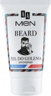 Гель для бритья для мужчин AA Cosmetics Men Beard 100 мл (5900116054490)