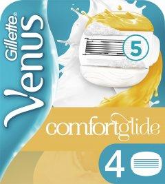 Сменные картриджи для бритья (Лезвия) женские Venus ComfortGlide With Olay 4 шт (7702018267651)