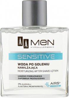 Лосьон после бритья AA Cosmetics Men Sensitive Увлажняющий 100 мл (5900116024721)