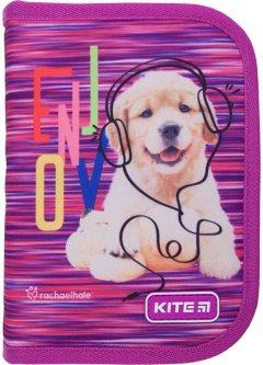 Пенал без наполнения Kite Education Rachael Hale 1 отделение 1 отворот Фиолетовый (R21-621)