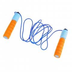 Спортивная скакалка со счетчиком, цвет оранжево-голубой (HOP-5732005)