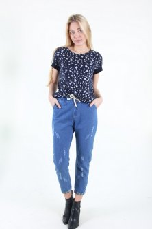Штани Wear classic 520-2 джинс (Синій M)