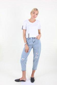 Штани WIQIQI 1280 джинс (Синій S)