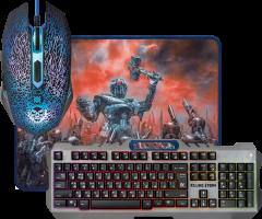 Комплект проводной Defender 3 в 1 Killing Storm MKP-013L (52013)