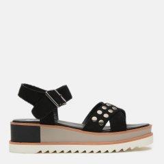 Босоножки XTI Microfiber Ladies Sandals 48810-1 41 Черные (8434739310581)