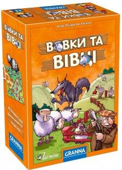 Настольная игра Granna Волки и овцы (83651) (5900221083651)