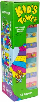 Развлекательная игра Strateg Kid's Tower (укр) (30863)