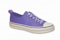 Жіночі фіолетові шкіряні кеди SP.Lion фіолетовий 68299 39