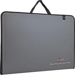 Папка-портфель Santi для эскизов А2 Prestige 450x39x715 мм серая (491690) (5056137147472)