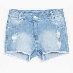 Шорты джинсовые Coccodrillo Positive Energy W20119401POS-001 128 см Белые (5904705015541)