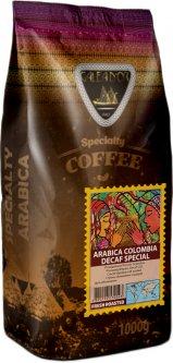 Кофе в зернах Galeador Арабика Колумбия Без кофеина 1 кг (4820194530543)