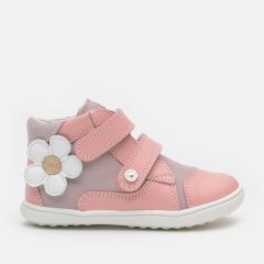 Ботинки демисезонные кожаные Bartek W-11703-002 24 (15.7 см) Розовые (5903607587415)